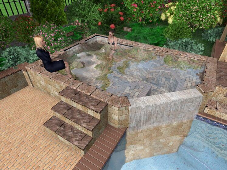 open pool